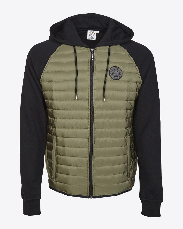 b72fc0828 LCFC Mens Padded Sweat Jacket