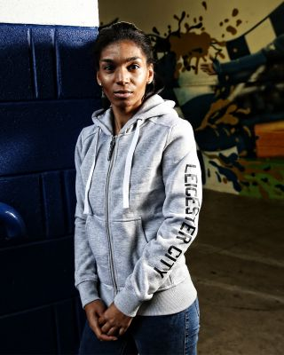LCFC Womens Grey Hoody