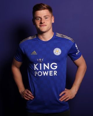 2019/20 adidas Leicester City Junior Home Shirt - BARNES 15