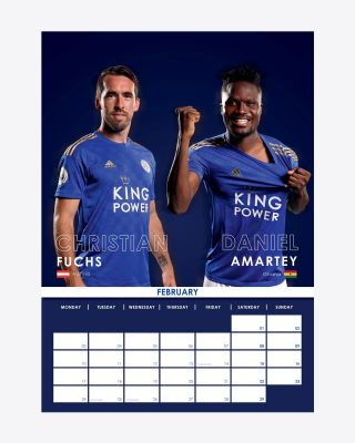 Leicester City Official 2020 Calendar