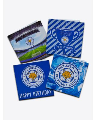 Leicester City Greetings Card - Assorted Designs