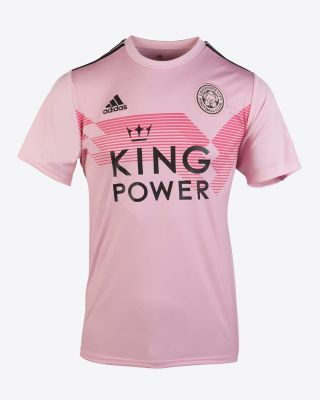 2019/20 adidas Leicester City Junior Pink Away Shirt