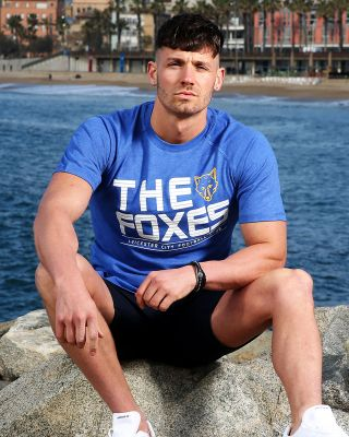 Leicester City Mens Foxes Sports Tee