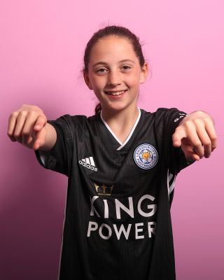 2019/20 adidas Leicester City Junior Grey Away Shirt