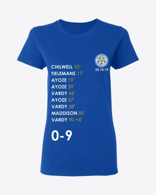 Leicester City Ladies 0-9 Record Breaking Tee