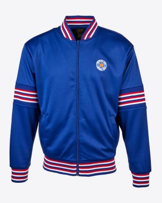 Leicester City Blue Retro Jacket 1974
