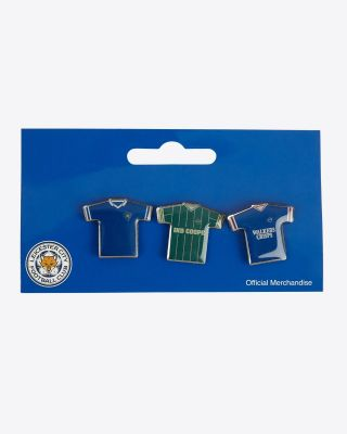 LCFC Retro Badges - Set 3