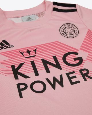 2019/20 Adidas Leicester City Pink Away Mini Kit