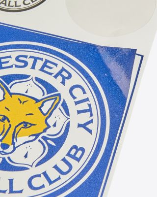 Leicester City Crest Sticker Pack