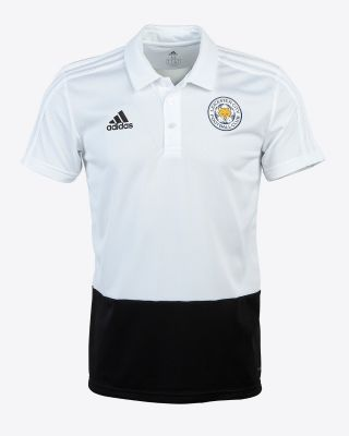 Adidas Adult's Training Polo - White/Black