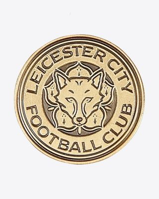 Leicester City Antique Crest Pin Badge