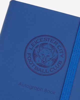 Leicester City Autograh Book