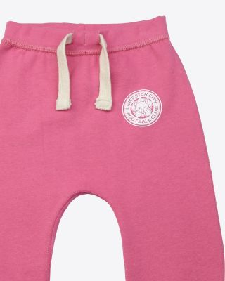 LCFC Pink Track Bottoms