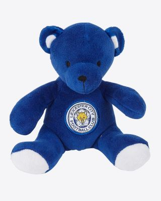Leicester City Small Blue Beanie Bear