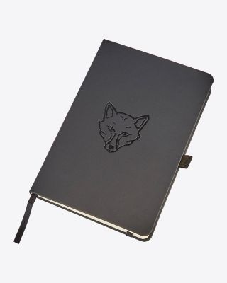 Leicester City Black Fox Notebook