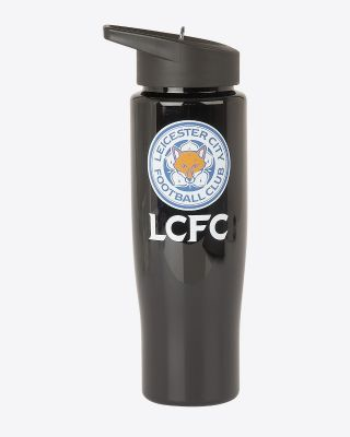 Leicester City Black Water Bottle