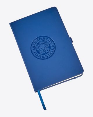 Leicester City Blue Crest Notebook