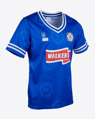 Leicester City Retro Shirt 1996/98 Home - HESKEY 9