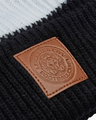 Leicester City Square Patch Bobble Hat
