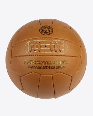 Leicester City Light Tan Retro Ball