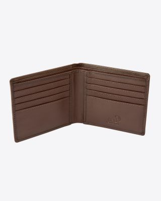 Leicester City Brown Leather Wallet