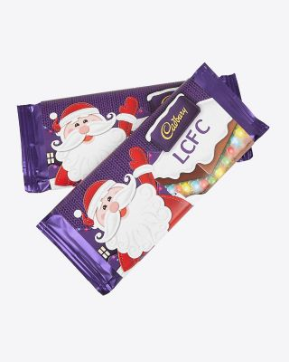 Leicester City Christmas Cadbury Bar - Assorted Designs