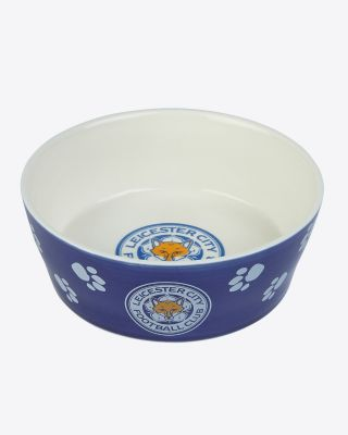 Leicester City Ceramic Pet Bowl