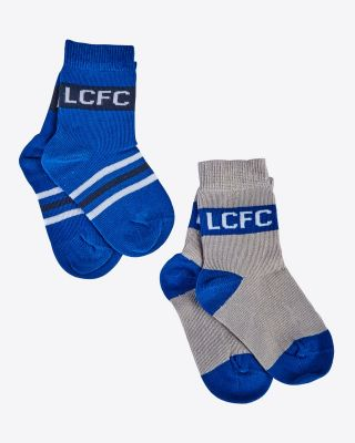 LCFC Twin Pack Child Socks