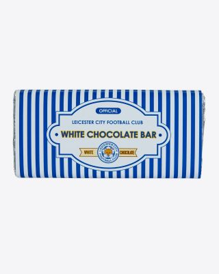 Leicester City White Chocolate Bar