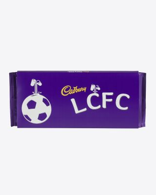 Leicester City 360g Cadbury Bar