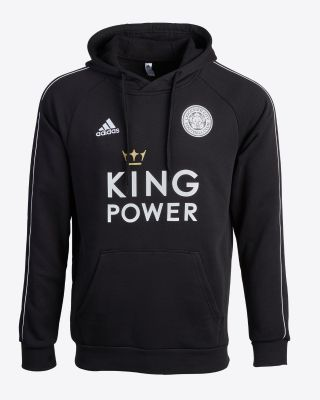 2019/20 adidas Leicester City Junior Black Training Hoody