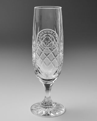 Leicester City Crystal Champagne Flute