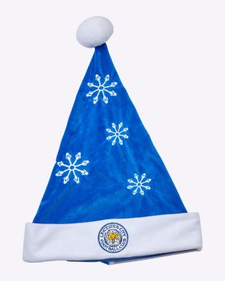 Leicester City Santa Snowflake Hat