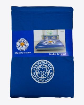 Leicester City Double Duvet Set