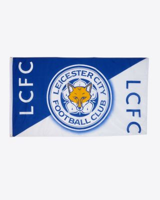 Leicester City Boxed Mega Flag