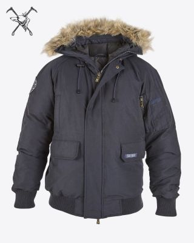Fox & Crop Faux Fur Hood Parka Coat