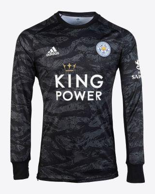 2019/20 adidas Leicester City Black Goalkeeper Shirt