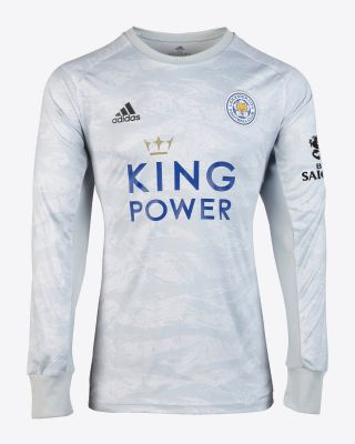 2019/20 adidas Leicester City Grey Goalkeeper Shirt
