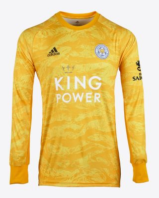 2019/20 adidas Leicester City Gold Goalkeeper Shirt