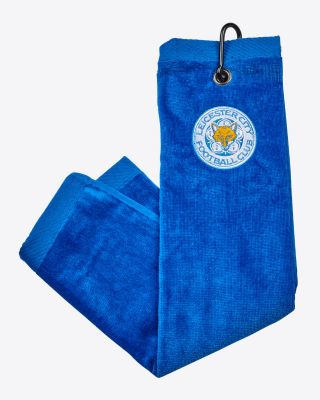 Leicester City Trifold Golf Towel