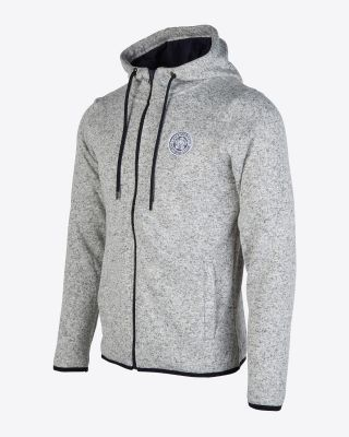 Leicester City Womens Grey Fleece