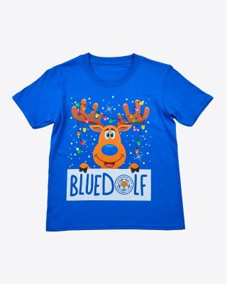 Leicester City Kids Bluedolf Tee