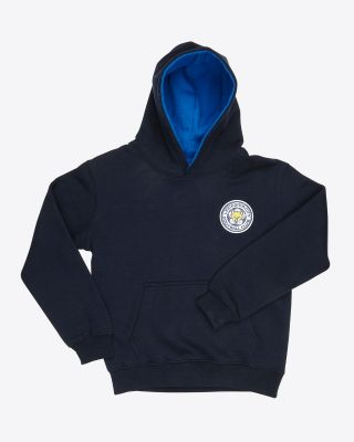 Leicester City Kids Essential Navy Hoody