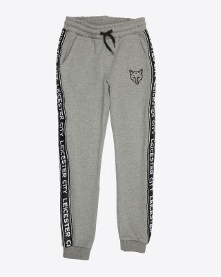 Leicester City Kids Tape Tracksuit Bottoms