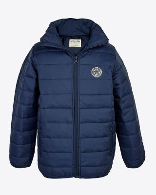 Leicester City Kids Polyfil Jacket Navy