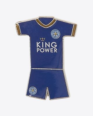 Leicester City Home Kit Pin Badge