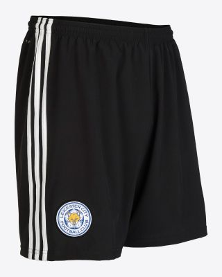 2019/20 adidas Leicester City Black Goalkeeper Shorts