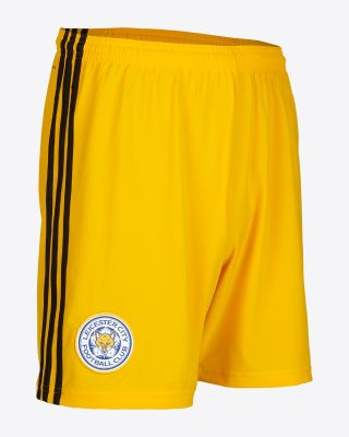 2019/20 adidas Leicester City Gold Goalkeeper Shorts
