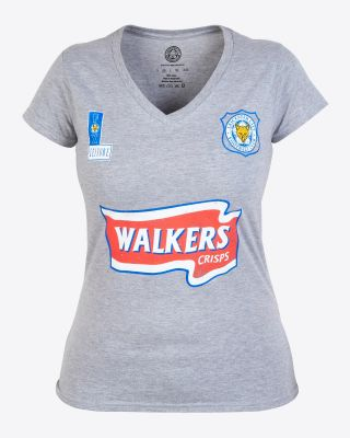 Leicester City Womens Grey Walkers Tee