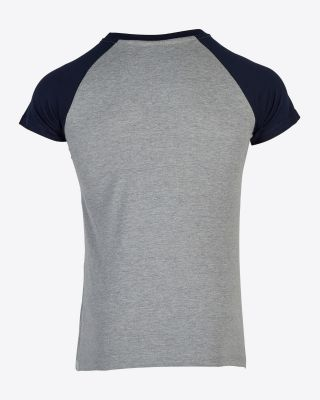 Leicester City Womens Navy/Grey Tee